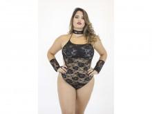 Fantasia body pantera negra Plus Size (GG) - Mil Toques
