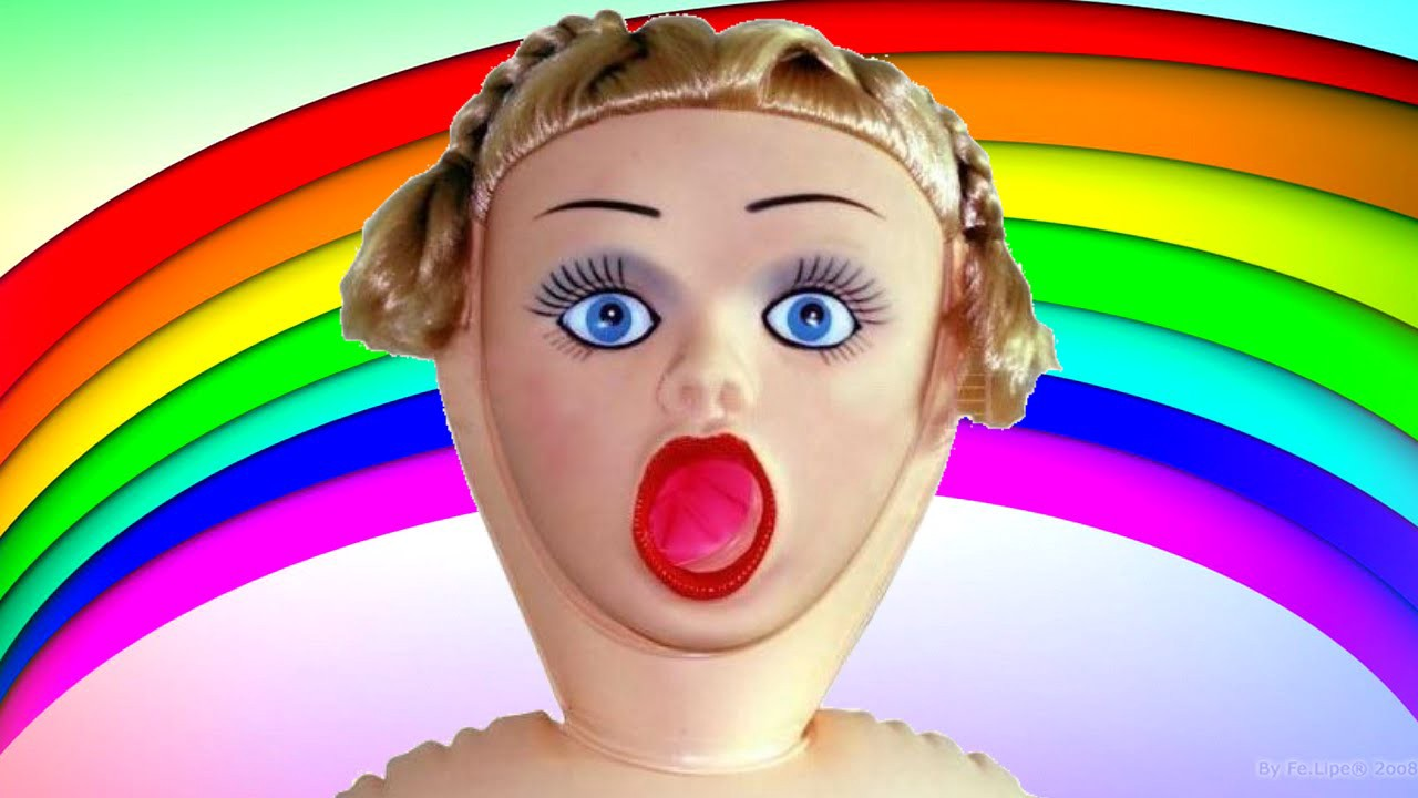 Melhor presente para seu amigo ou amiga, uma boneca inflável para quem precisa de uma nova namorada.